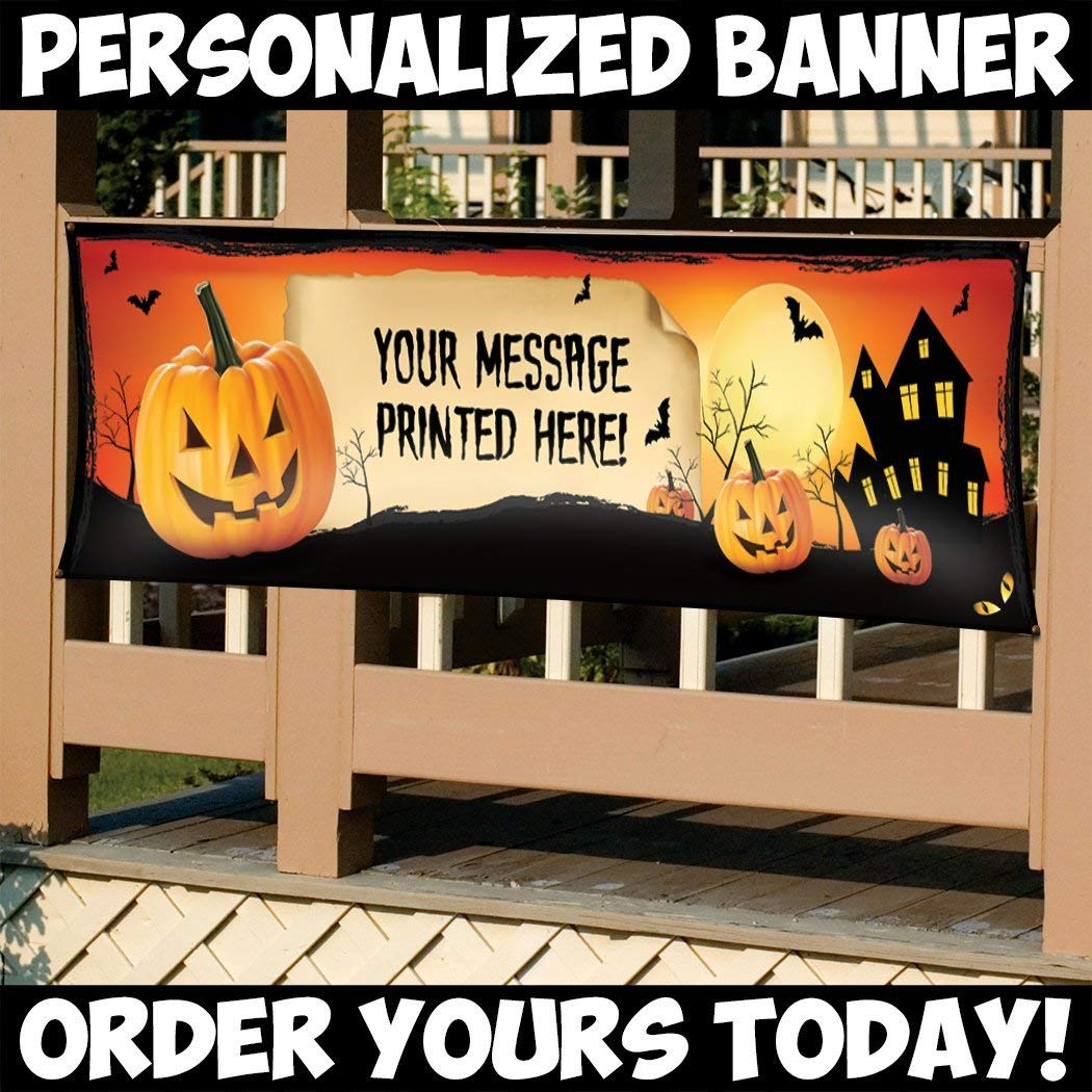 customized banner Yikes banner Halloween party decor Halloween decorations Halloween banner Halloween Halloween birthday banner