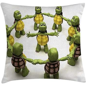 Amazon.com: Reptile Throw Pillow Cushion Cover, Ninja ...
