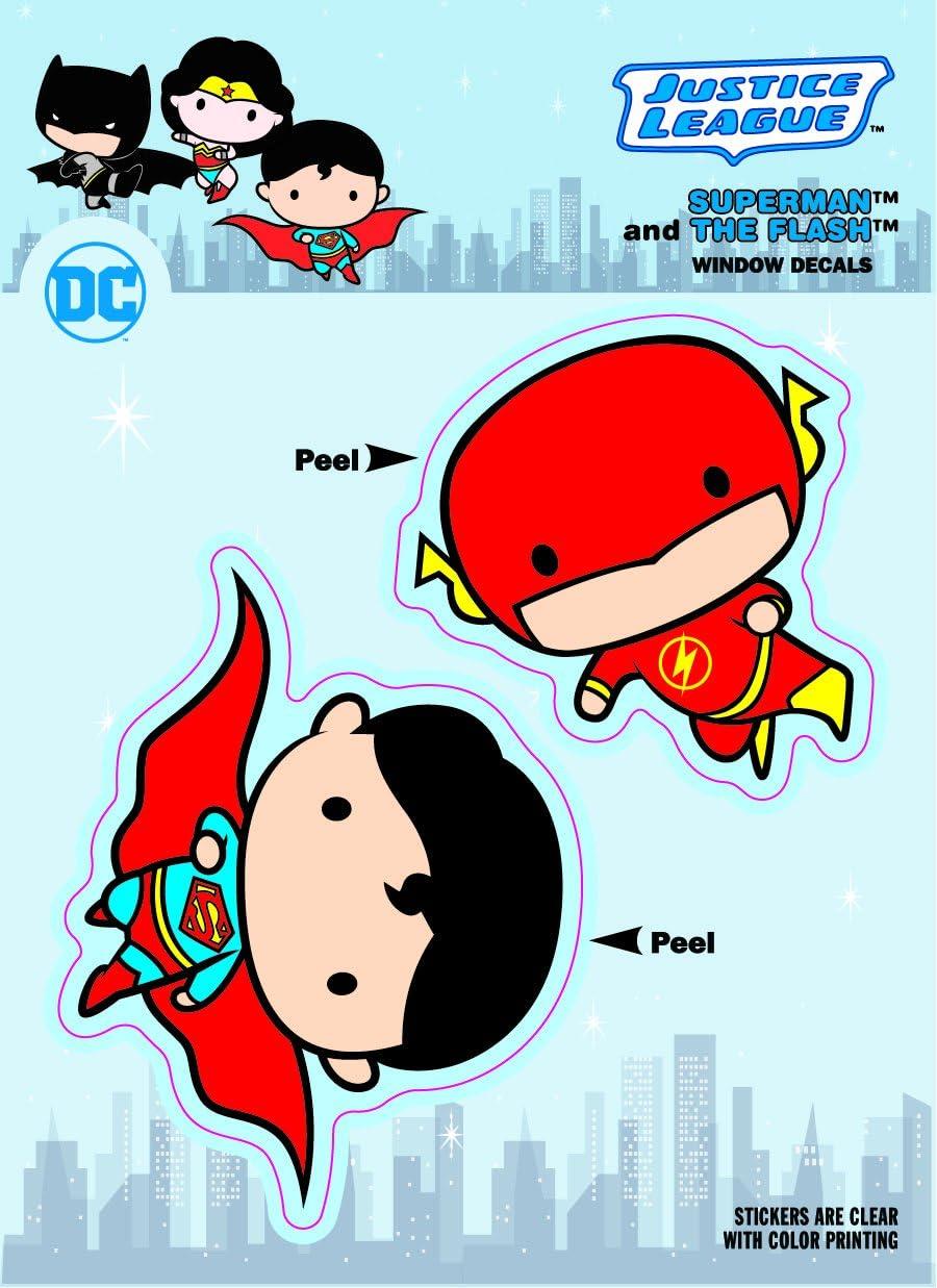 "DC Comics Originals Batman Car Window Sticker Decal Family 5/"" Standard"