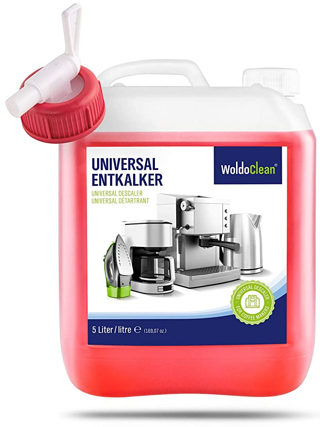 Descalcificador para cafetera concentrado liquido 5 litros - Compatible con marcas Delonghi Dolce Gusto Nespresso Seaco, Krups Senseo: Amazon.es: Hogar