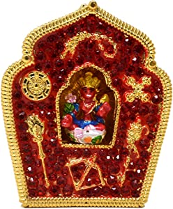 Feng Shui Red Tara Home Protection Amulet Decor W4092