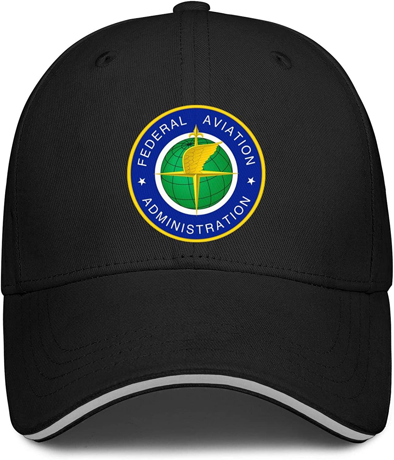 Federal Aviation Administration Logo Baseball Cap Custom Dad Hats Mens Adjustable Snapback Ball Caps for Women