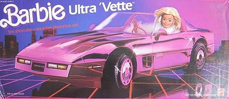 Amazon barbie ultra vette convertible corvette car vehicle amazon barbie ultra vette convertible corvette car vehicle 1985 mattel hawthorne toys games thecheapjerseys Images