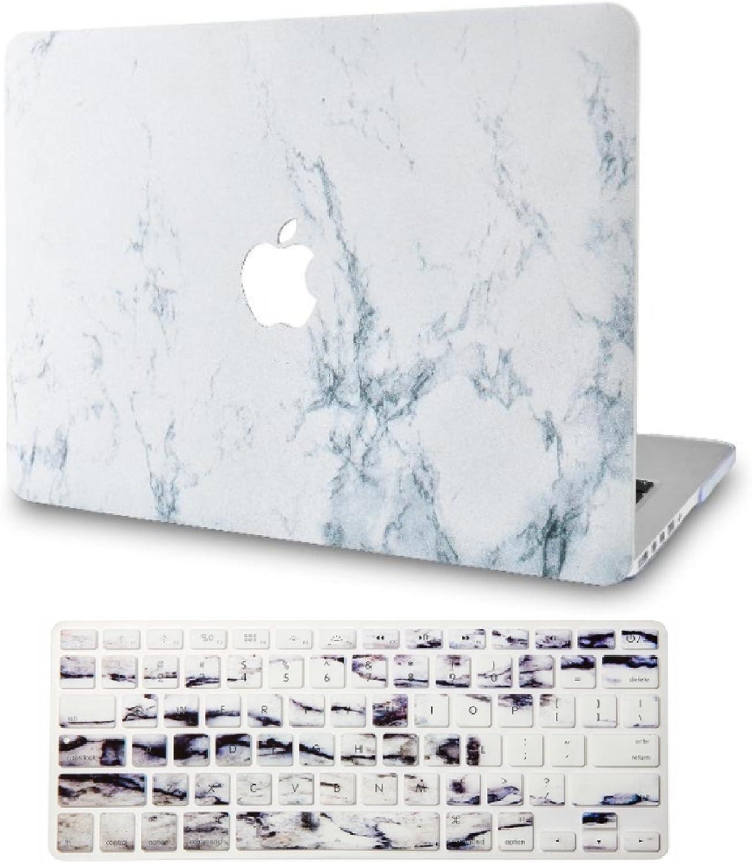 KECC MacBook Pro 13 Coque Rigide Case w// EU Protection Clavier pour MacBook Pro 13.3 {A1989//A1706//A1708} 2020//2019//2018//2017//2016, Touch Bar Rainbow Mist