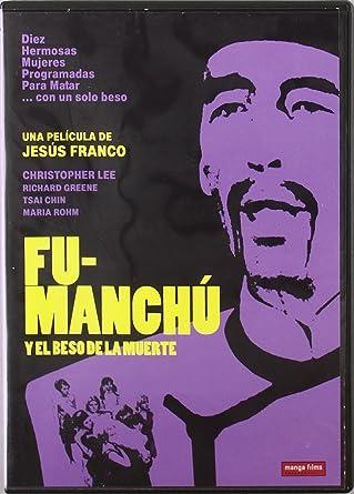 Fu-Manchú y el beso de la muerte [DVD]: Amazon.es: Christopher Lee ...