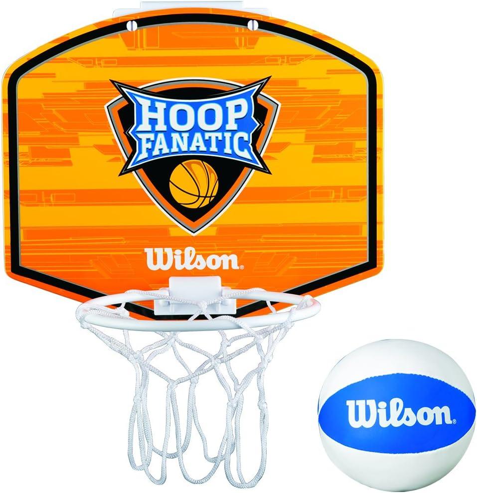 Wilson Fanatic Hoop Canasta de Mini Basket, Juventud Unisex ...