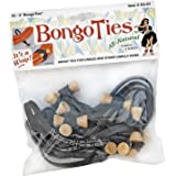 BongoTies Original Bongo Ties A5-01 ~ 10 Pack ~ Handy Ties for Cables and Other Unruly Items