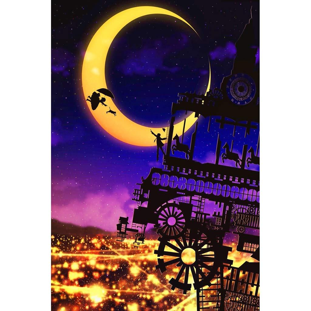 Jigsaw Puzzles-HU MagPT Magical World Illustration, Holzpuzzle, Dreamland Dragon und Dungeon Fine Cut & Fit 5005000pc Boxed Toys Game Art für Erwachsene & Kinder (Farbe   F, größe   500pc) B07P76Q75H Holzpuzzles Komfort | Düsseldorf Eröffn