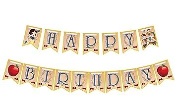 Amazon.com: Pancarta para fiesta de cumpleaños de color ...