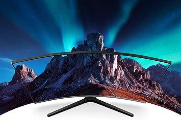 Samsung monitor lc32r500fhuxen monitor curvo da 32 pollici, fhd, amd freesync, 1 hdmi, dark blue grey