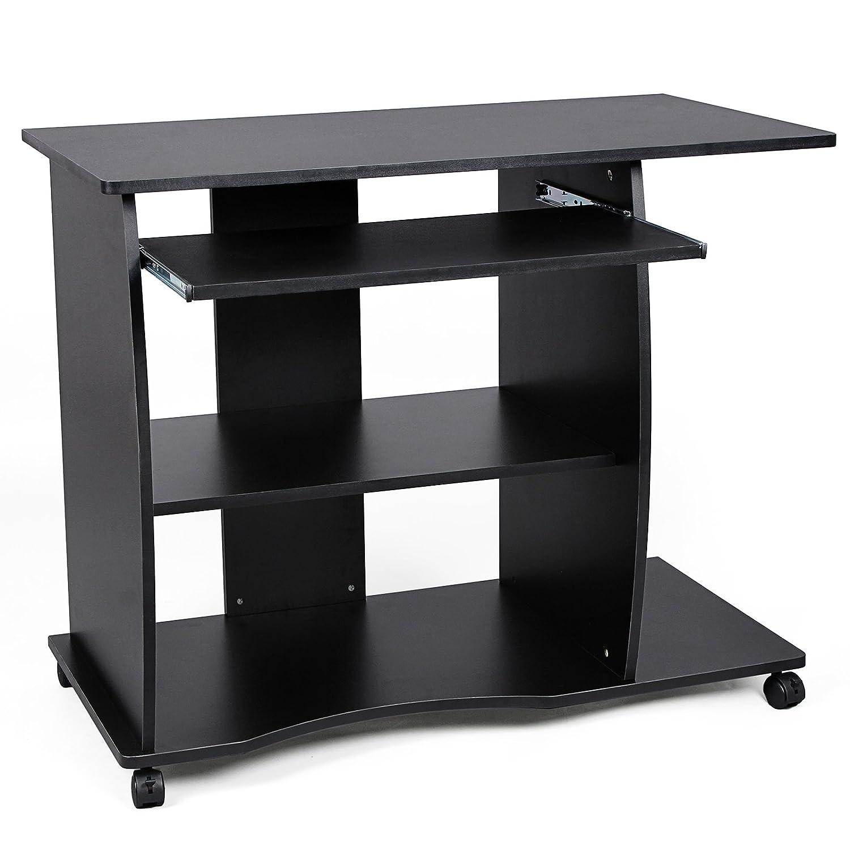 Affordable songmics scrivania porta pc tavolo per computer - Mensole porta pc ...
