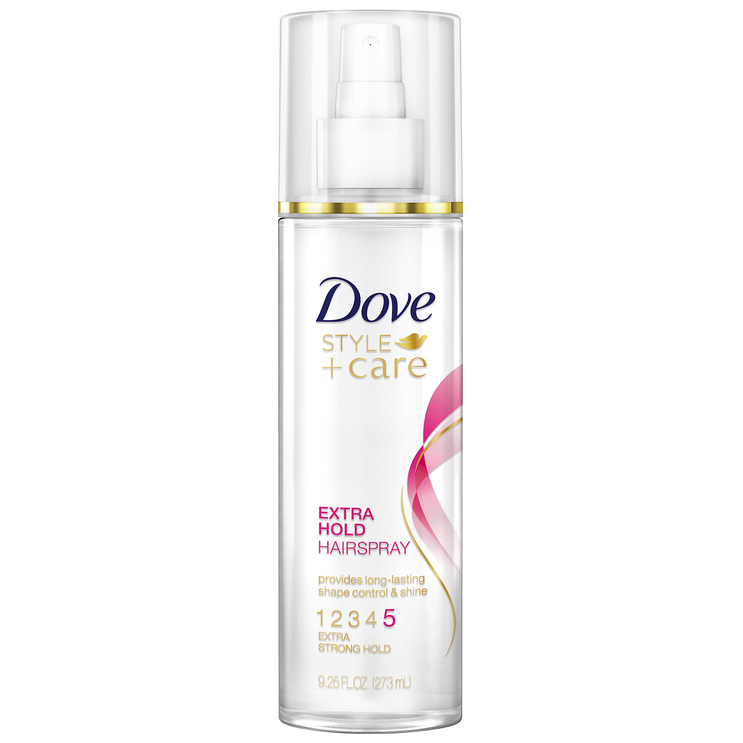 Dove Hairspray, Non-Aerosol Extra Hold 9.25 oz (Pack of 3)