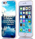 Iphone 6S Case Christian Quotes, Apple Iphone 6S Case Bible Verses Psalm 62:6