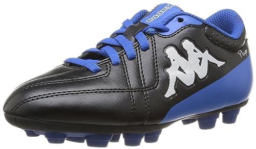 Kappa Kappa 4 Soccer Player Fg Lace - Botas de fútbol de material sintético para niño negro Noir (Black/Blue) 33: Amazon.es: Zapatos y complementos