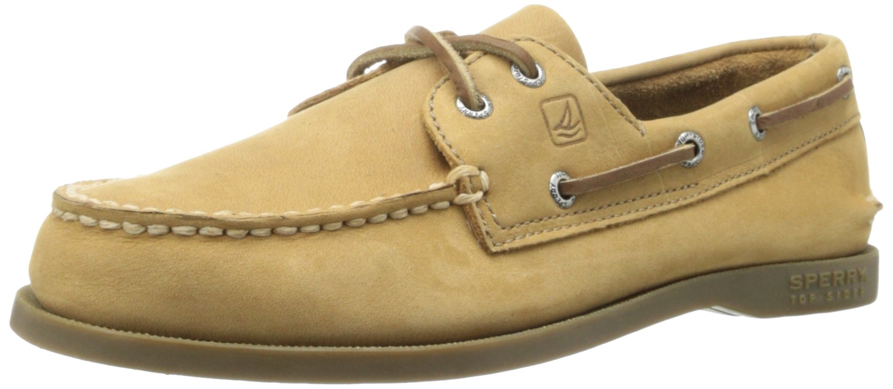 Sperry Authentic Original Boat Shoe (Toddler/Little Kid/Big Kid),Sahara,6 M US Big Kid