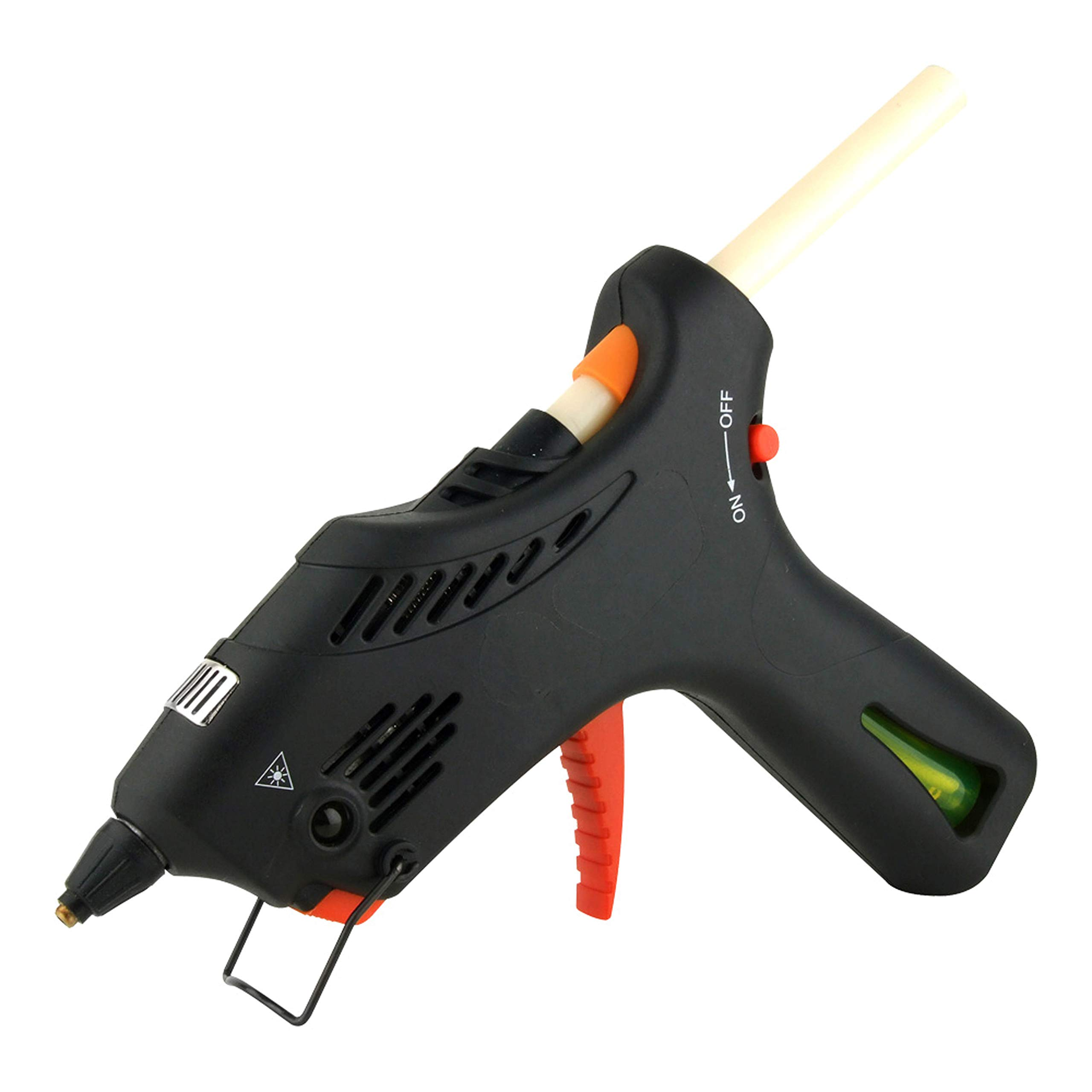 Cordless Butane Gas Glue Gun with Automatic Temperature Control & 2 Glue Stick