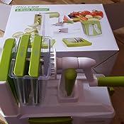 gem se spiralschneider milcea 5 klingen gem senudeln spiralschneider zucchini. Black Bedroom Furniture Sets. Home Design Ideas