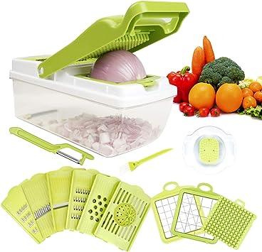Magic Hand Press Vegetables Fruits Onion Chopper For dicing Kitchen Gadget Tool