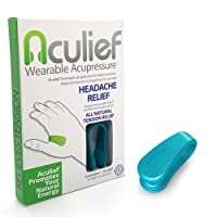 Aculief Wearable Acupressure Provides All Natural Tension Relief Using The LI4 Acupressure...