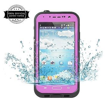Redpepper Samsung Galaxy S4 Carcasa, IP68 Impermeable Carcasa funda con Protector de Pantalla, anti-agua, anti-polvo, anti-salpicadura, anti-impacto ...