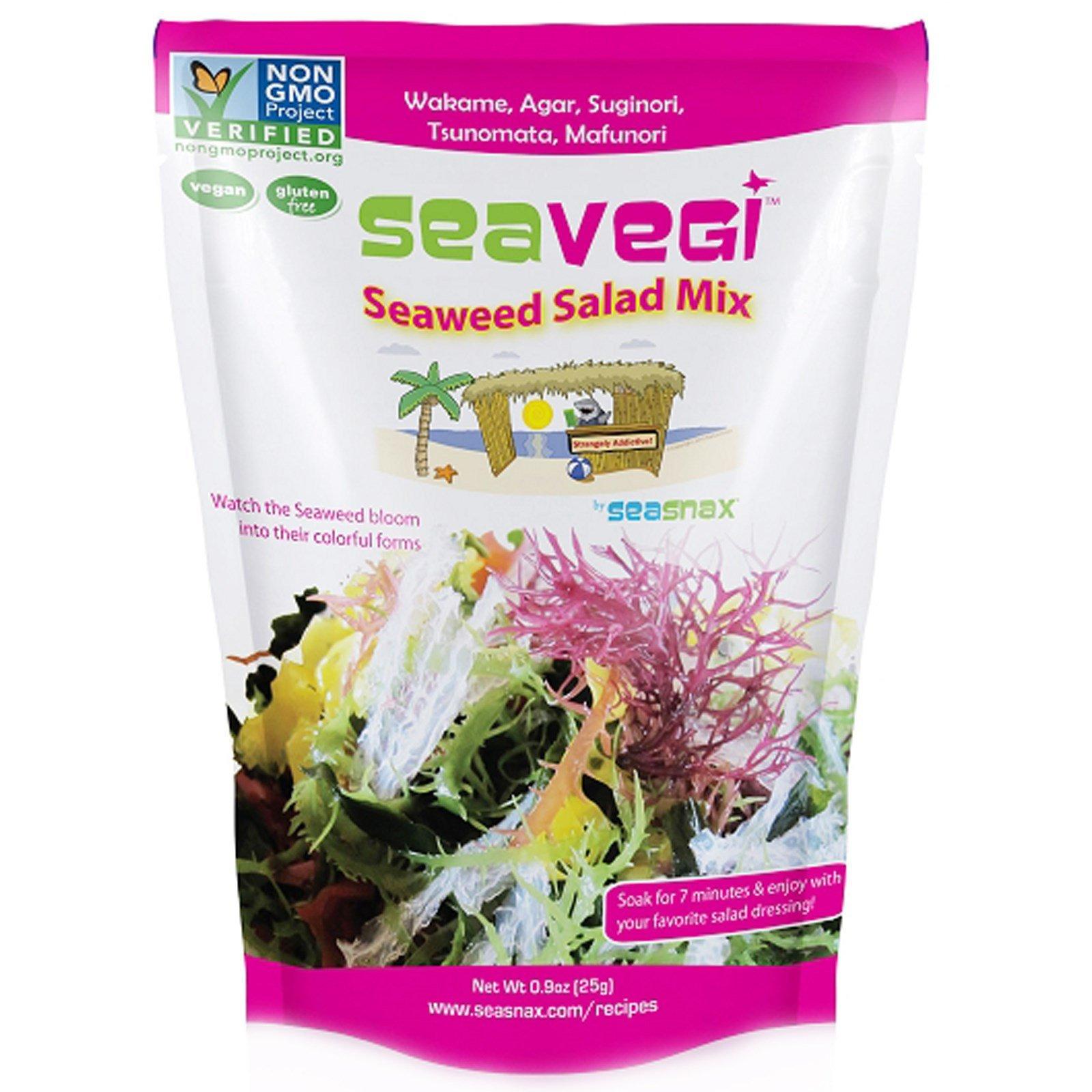 SeaSnax SeaVegi Seaweed Salad Mix -- 0.9 oz