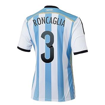 adidas RONCAGLIA #3 Argentina - Camiseta de fútbol (Nombre y ...