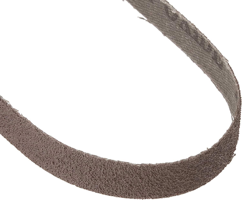 1//2 Inch X 18 Inch Aluminum Oxide Sanding Air File Belts 24 Pack, 220 Grit