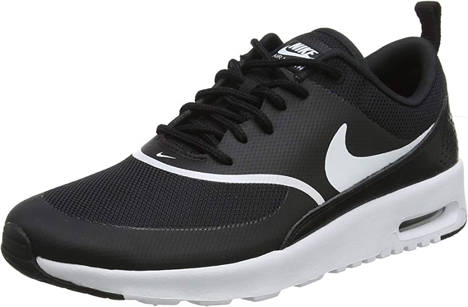 34555377 Nike Women's Air Max Thea Derbys, Black (Black/White 028), 8.5 UK 43 ...