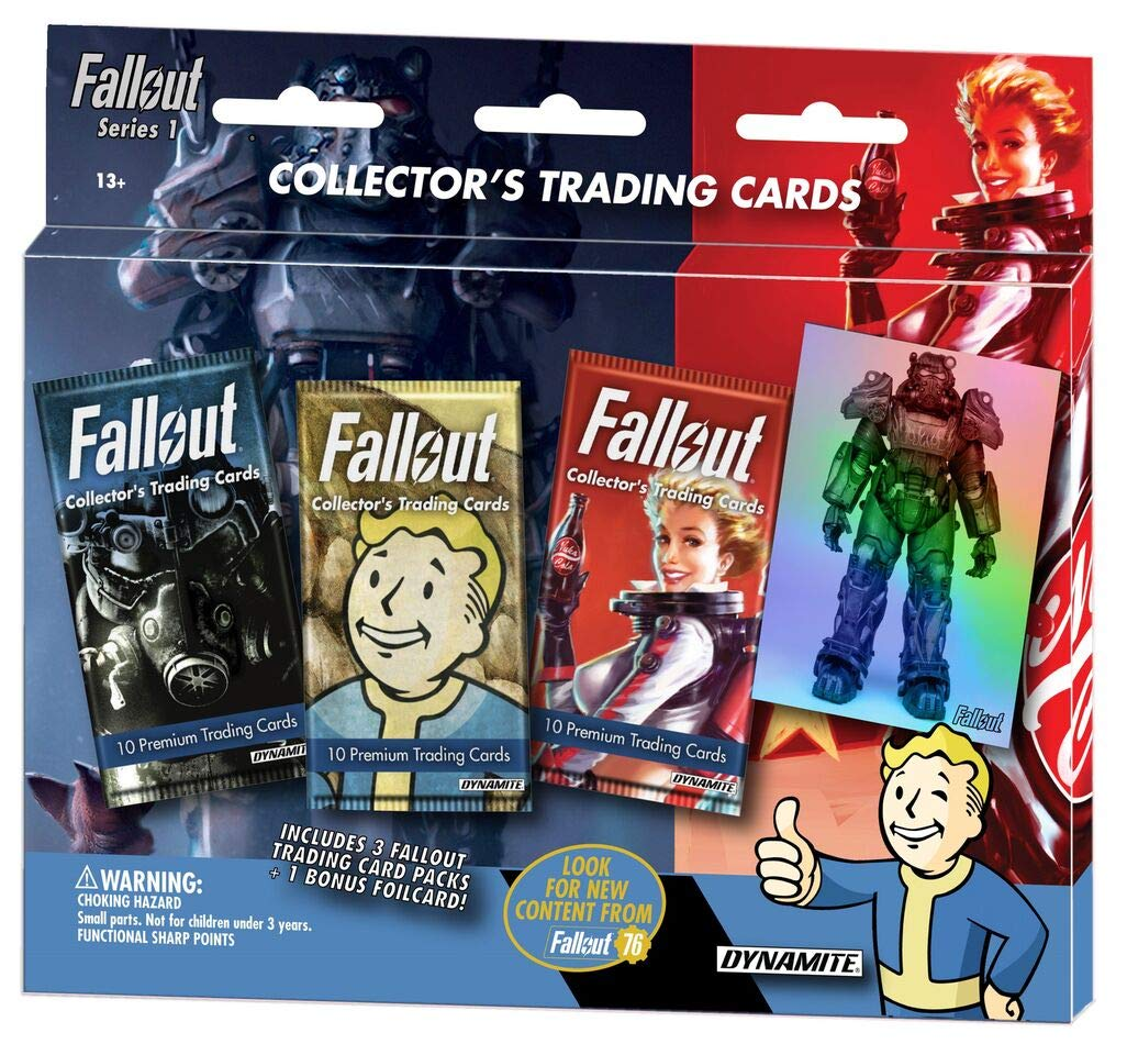 Chase Cards Dynamite Fallout Trading Card Series 1 and 2 Holofoil