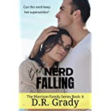 Bad Nerd Falling: Clean contemporary romance with suspense elements: The Morrison Family Series Book 8