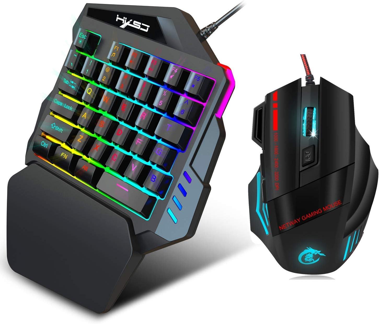 Full Size White Backlight Splash-Proof Design. Color : Black Eat Chicken Keyboard Yougou01 Mechanical Keyboard Black Green Axis