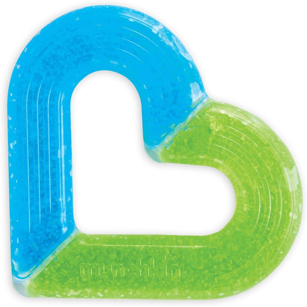 Munchkin Ice - Mordedor en forma de corazón: Amazon.es: Bebé