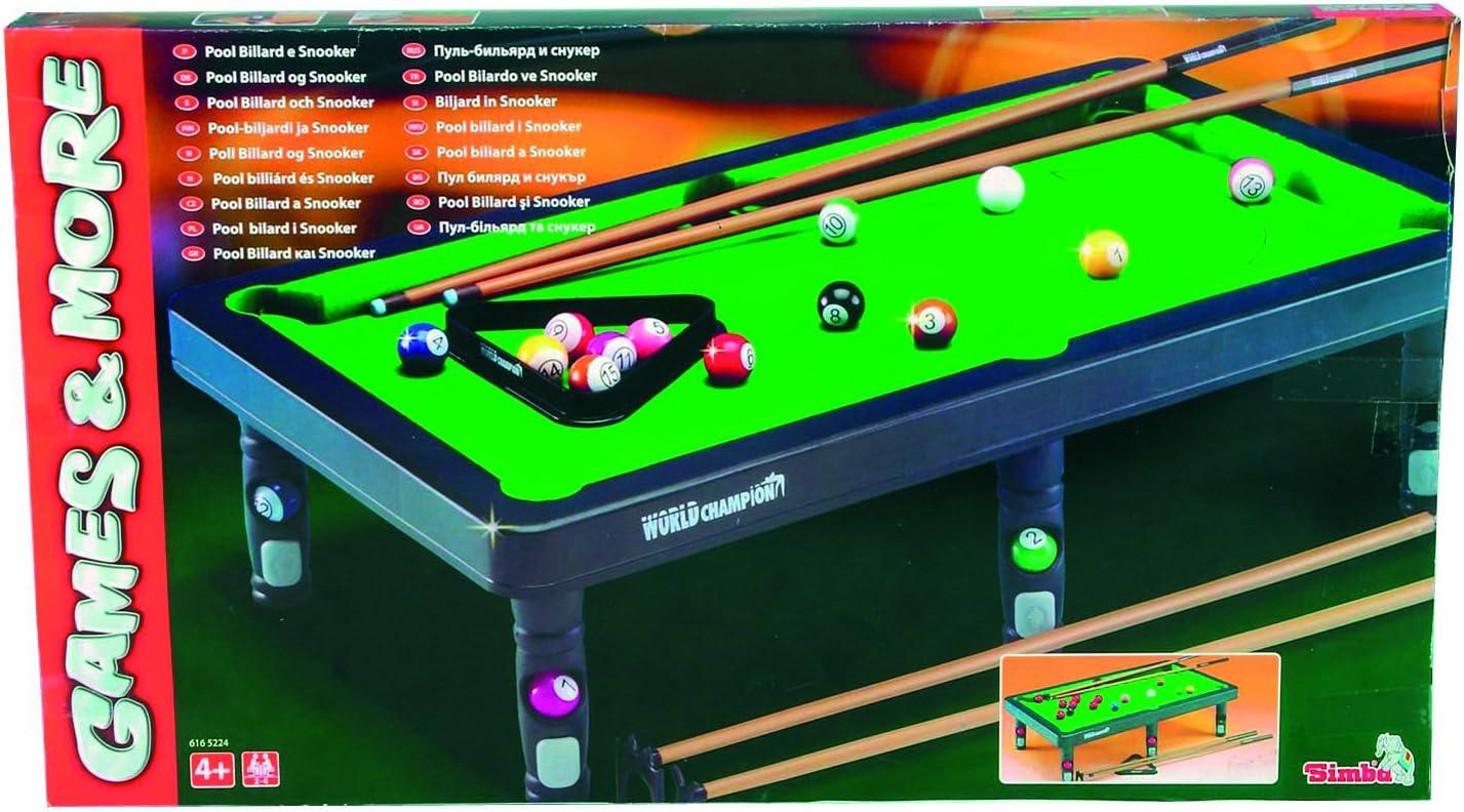 Simba Smoby Mini Snooker: Amazon.es: Juguetes y juegos
