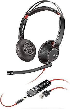 Plantronics Blackwire 5220 Binaural Kopfband Schwarz Computer Zubehör