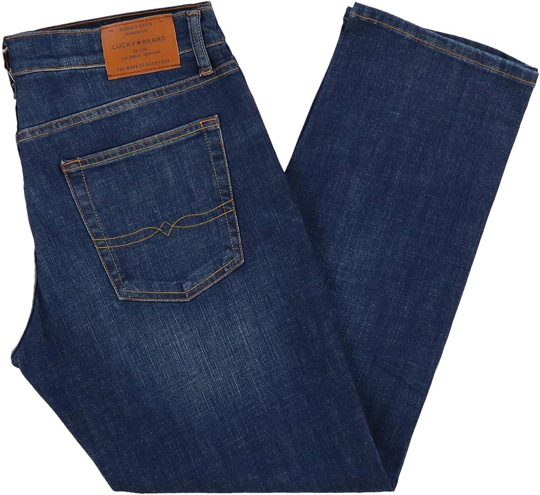 Halite Wash, 32W x 30L Lucky Brand Mens 221 Original Straight-Leg Jean