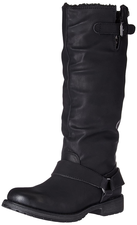 Black Roxy Womens Montes Winter Boot