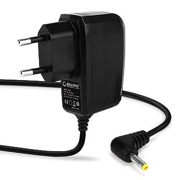 CELLONIC® Cargador - 1,20m (1A) Compatible con Sony PSP-1000/1004 / 2000/2004 / 3000/3004 / E1000 / E1004 (5V / 4.0mm x 1.7mm) Cable de Carga