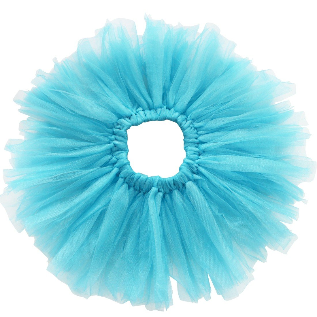 iiniim Baby Girls Photography Photo Prop Outfits Headband Tutu Skirt Set Blue