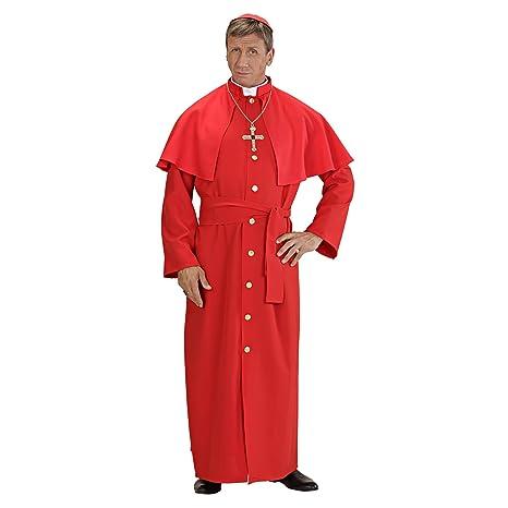 WIDMANN Costume da Cardinale per Adulti 4a7153a94ab