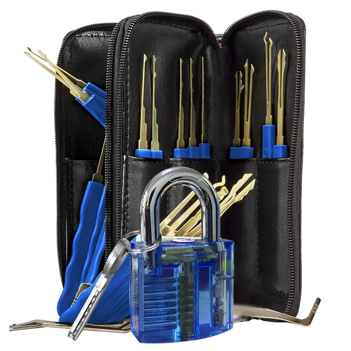 Lock Repair Set 24 PCS (Blue Lock) by A-GSL-GBB