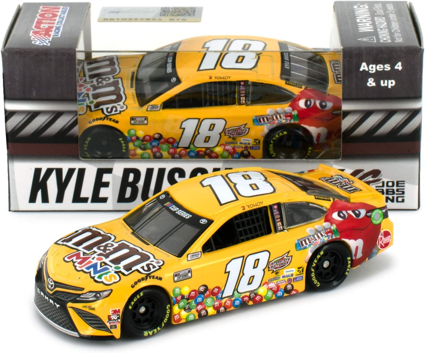 Lionel Racing Kyle Busch 2020 M/&Ms Minis 1:64 Nascar Diecast