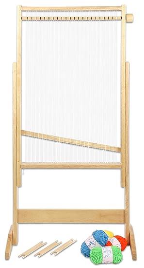 Allgäuer Webrahmen Basteln & Kreativität Holzwebrahmen 40 cm
