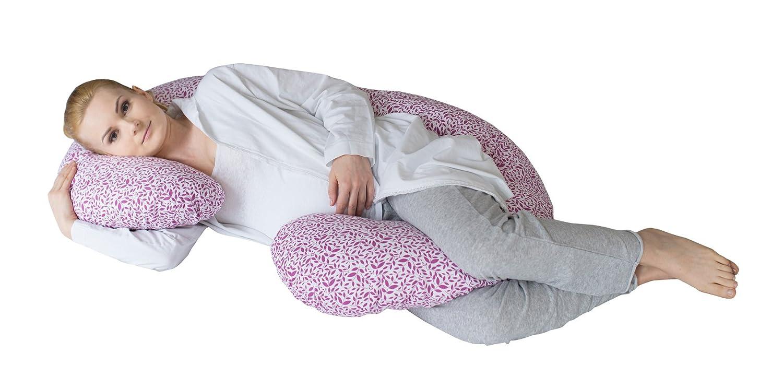 Motherhood Still- und Lagerungskissen sleepy-C, Classics, ergonomisch mit Öko-Tex Standard 100, Grau Classics 2017 5901323928765