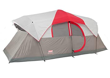 Coleman WeatherMaster 10 Person 2 Room Family C&ing Tent w/ LED Light System  sc 1 st  Amazon.com & Amazon.com : Coleman WeatherMaster 10 Person 2 Room Family Camping ...