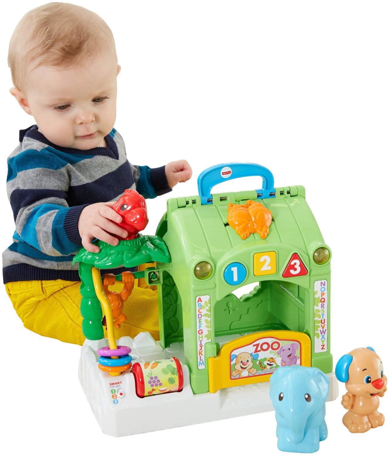 Amazon Fisher Price Laugh and Learn Smart Stages Activity Zoo