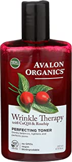 product image for Avalon Organics Wrinkle Therapy with CoQ10 & Rosehip Perfecting Toner 8 oz