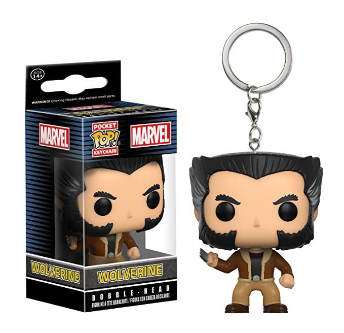 Amazon.com: Bolsillo Pop. Llavero: Wolverine: Toys & Games