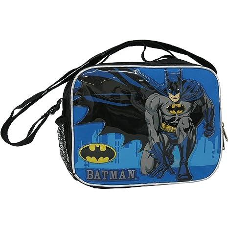 "9.5/"" DC Batman Insulated Lunch Bag"