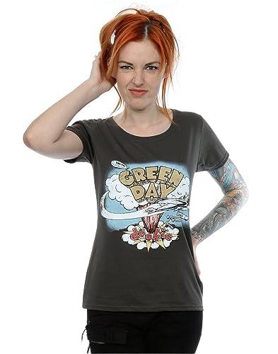 Green Day mujer Dookie Album Camiseta