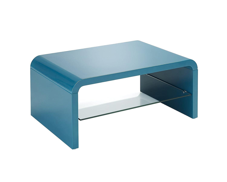 Mobilia design coffee and side tables - Presto Mobilia 11425 Coffee Table Tv Table Side Table Tacco 90 X 60 X 40 Cm Petrol Amazon Co Uk Kitchen Home